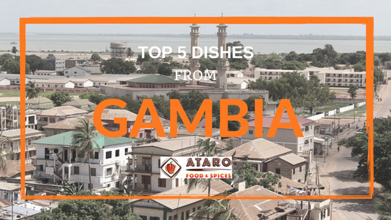 Top 5 dishes series Gambia